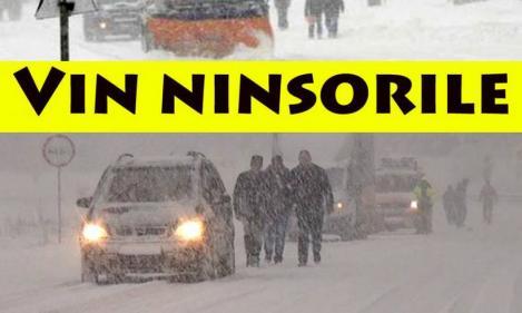 Autoritățile, în alertă după ce meteorologii au anunțat cod galben de ninsori și vânt puternic! Anunțul de ultimă oră făcut de MAI