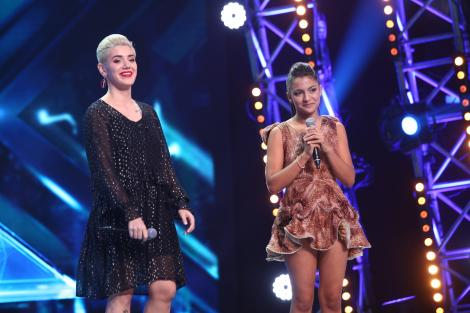"""Mălina Ciarnău versus Doinița Ioniță, la duel, la """"X Factor""""! Ștefan Bănică a decis instant: """"Ai o strălucire în voce! Tu mergi mai departe!"""""""