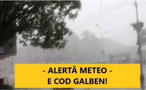 Vești PROASTE de la meteorologi! Este Cod GALBEN în aproape toată țara! Zonele afectate, în următoarele ore