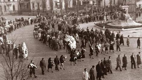 73 de ani de la primul protest anti-comunism din România. Manifestația din 8 noiembrie 1945