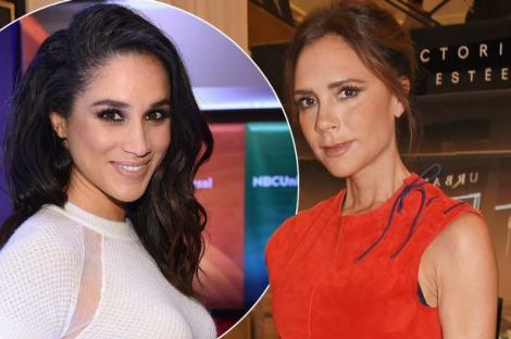 """Meghan Markle are o problemă cu Victoria Beckham? Ducesa a atacat-o  """"indirect"""" pe creatoarea de modă: """"Nu aș purta niciodată rochiile ei"""""""