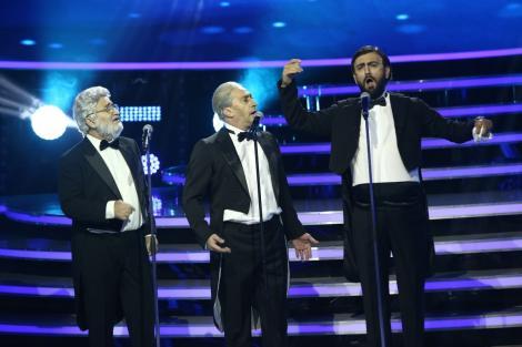 """""""Te cunosc de undeva!"""". Romică Țociu, Cornel Palade și Cezar Ouatu se transformă în José Carreras, Plácido Domingo și Luciano Pavarotti"""