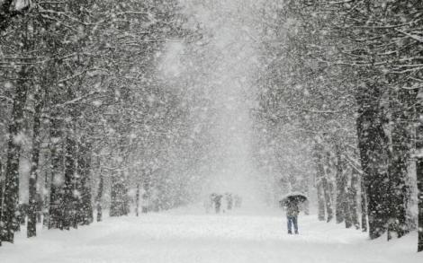 ANM a emis prognoza pentru toată luna decembrie. Vremea de Sărbători aduce ninsori, vânt și viscol