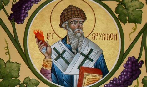 Calendar ortodox 12 decembrie. Sf Spiridon, sărbătoare cu cruce neagră