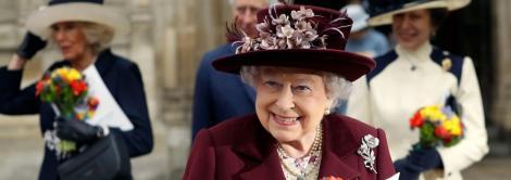 Regina Elisabeta a II-a Marii Britanii și Principesa Margareta, întâlnire privată la Palatul Buckingham