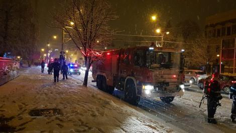 Incendiu la maternitatea din Sibiu! Totul a pornit din salonul unor mame! Ce s-a întâmplat