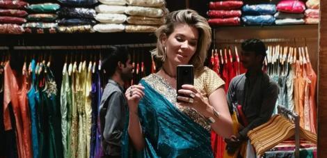 """Gina Pistol, îndrăgostită de sari-urile indiene: """"India şi-a pus amprenta puternic asupra mea"""""""