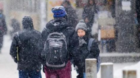Ultimă oră! Zeci de școli rămân închise miercuri! Județul în care elevii stau acasă