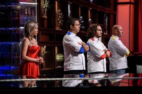 """Un alt concurent de la """"Chefi la cuțite"""" a părăsit competiția! Audiențe-record marți seară"""