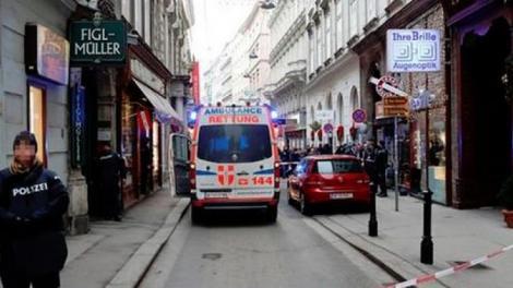 Ultimă oră: Atac armat într-un restaurant cunoscut din Viena! Cel puțin două persoane au fost împușcate