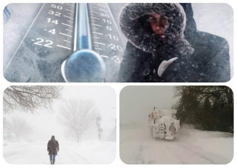 Ger năprasnic în România, vreme extremă! Prognoza meteo pe 2 saptămâni 24 decembrie-6 ianuarie