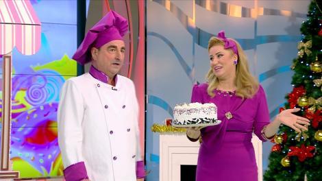 """Vasile Muraru și Valentina Fătu au făcut show cu un tort și o plăcintă! """"Poftiți 50 de lei, dați-mi tortul!Luați plăcinta, dați-mi banii! Sănătate, la revedere și vânzare bună!"""""""