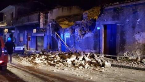 Sicilia, zguduită de un cutremur puternic, la mai puțin de două zile de la erupția vulcanului Etna