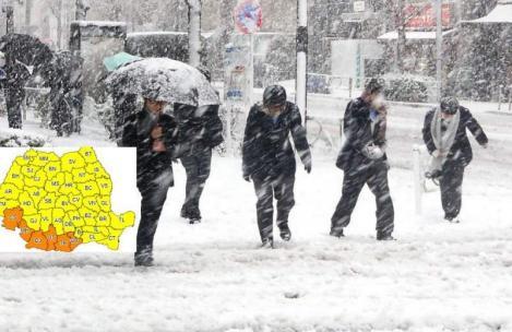 Vremea 29 decembrie. Prognoza meteo anunță ninsori și temperaturi scăzute