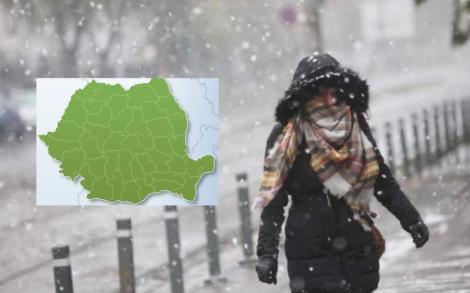 Prognoza meteo 3 - 16 decembrie. Vremea se schimbă radical! Află când vin ninsorile