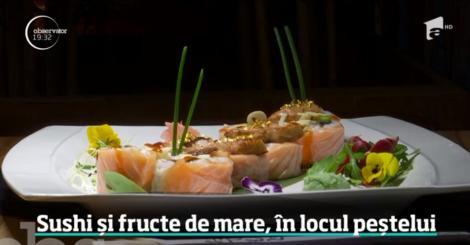 Fructele de mare și sushi-ul, cele mai sănătoase alternative pentru clasicul pește de Revelion
