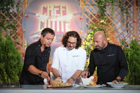 """""""Chefi la cuțite"""", un nou record de audiență cu aproape 2.500.000 de telespectatori"""