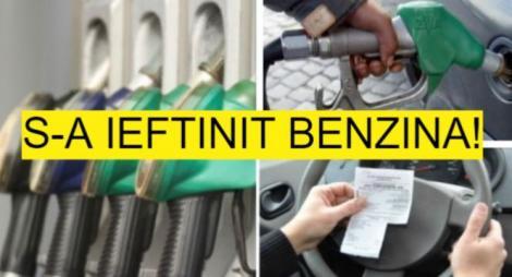 Vești excelente pentru șoferi! Prețul benzinei a coborât sub pragul de 5 lei pe litru! Unde găsești cele mai ieftine benzinării din țară!