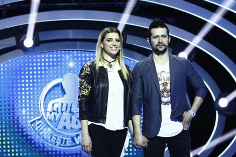"""Un columbian și o româncă prezentatoare TV au venit la """"Guess My Age"""" ca să strângă bani de nuntă!"""