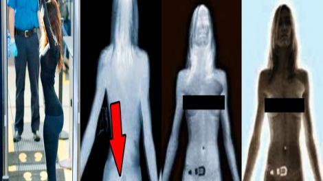 A fost oprită pe aeroport după ce pe scannere s-a văzut că are ceva anormal în pantaloni! Nimeni nu se aștepta la asta!