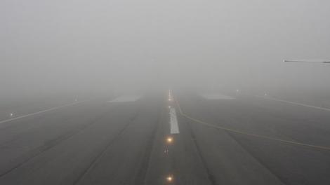 Vremea rea afectează zborurile pe Aeroportul Henri Coandă: Cinci curse au fost redirecţionate din cauza ceţii