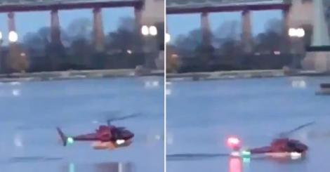 Tragedie! 5 MORȚI după PRĂBUȘIREA unui elicopter la New York
