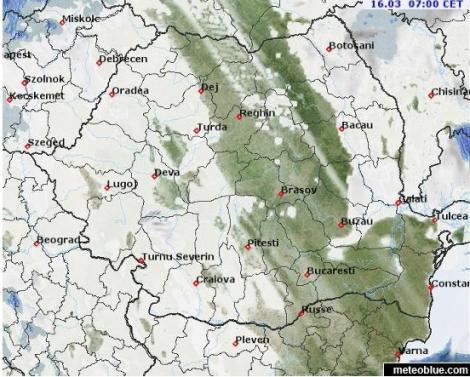 VREMEA 16 martie 2018. Prognoza METEO vineri, 16 martie: liniștea dinaintea furtunii!