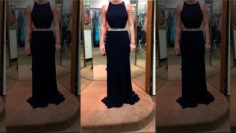 Studenta probează o rochie și din greșeală trimite poza unui străin! Neatenția de moment și făcătura destinului o transformă într-o EROINĂ!