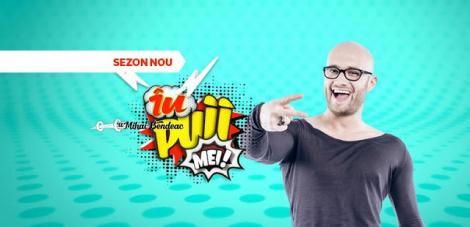 """Nu rata noua ediție """"În puii mei""""! Amuză-te cu cele mai tari personaje ale lui Mihai Bendeac, duminică, 18 martie, de la ora 22.00!"""