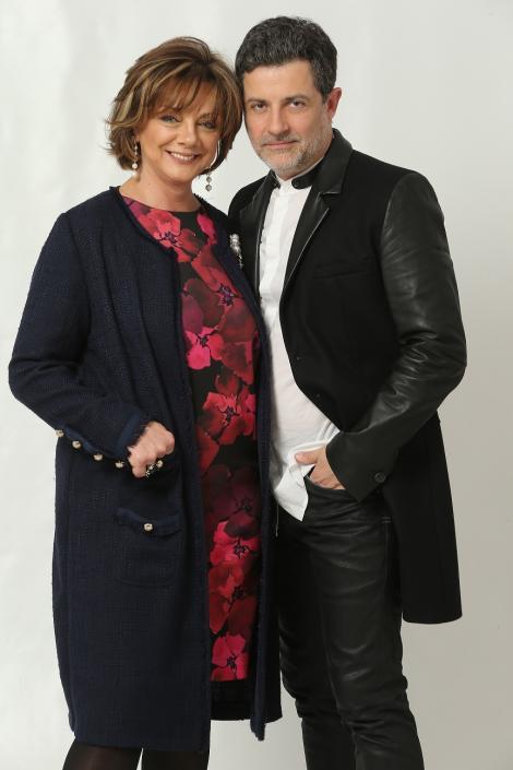 """Cei doi actori pot fi urmăriți în """"Fructul oprit"""", miercurea, de la ora 20.00  Mihai Călin: """"Este foarte haios să lucrezi cu  Carmen Tănase"""""""