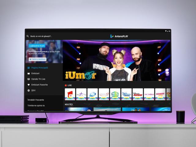 AntenaPlay lanseazã o aplicaţie nouã pentru Smart TV