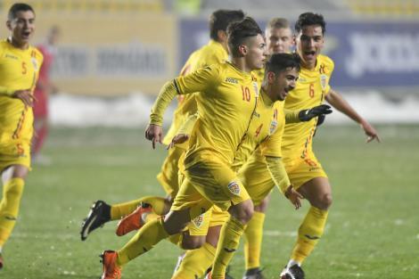Debut de excepție pentru România U19 în Turul de Elită pentru calificarea la Euro 2018! Mățan și Moruțan au făcut spectacol cu puternica Serbia U19