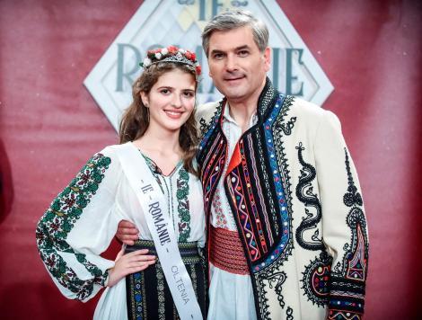 """Alexandra Tăcutu, câștigătoarea """"Ie, Românie"""" – Oltenia, este pasionată de costumul popular: """"Este cel mai de preț lucru al sufletului meu"""""""