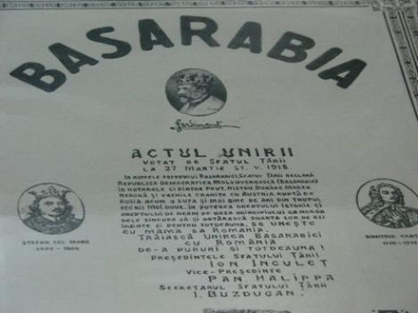 Centenarul Marii Uniri: 27 martie 1918 - Unirea Basarabiei cu Regatul României