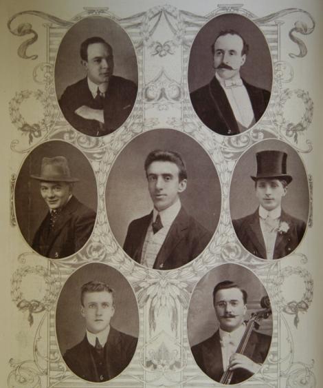 FOTO! Oamenii care au cântat în timp ce Titanicul se scufunda, pentru a liniști pasagerii. Formaţia a cântat până la sfârșit