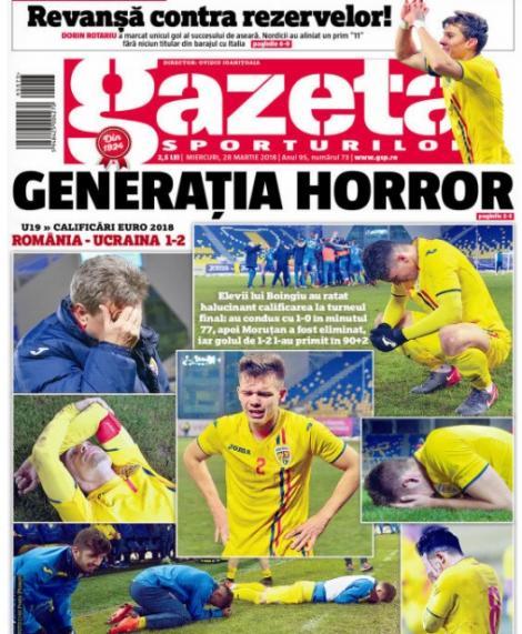 """Revista presei sportive, 28.03.2018; România are o nouă generație de fotbaliști: """"Generația HORROR""""; Maestrul Isco umilește Argentina; englezii distrug VAR-ul"""