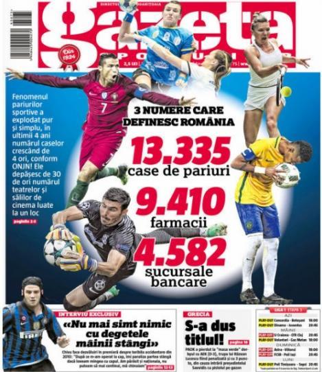 Revista presei sportive, 30.03.2018: număr incredibil de case de pariuri existente în România; Messi a primit verdictul după accidentare; un mega-star spaniol, out de la Cupa Mondială ?
