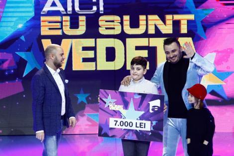 """Liviu Guță și copiii săi, Mario și Maria, au donat cei 7.000 de lei câștigați la """"Aici eu sunt vedeta"""" unui băiețel grav bolnav"""