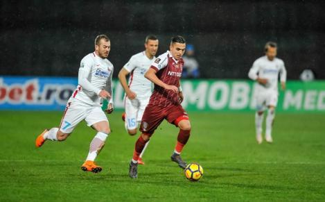 Dan Petrescu anunță un viitor transfer de răsunet din Liga 1! Cristi Manea, de la CFR Cluj la AS Roma