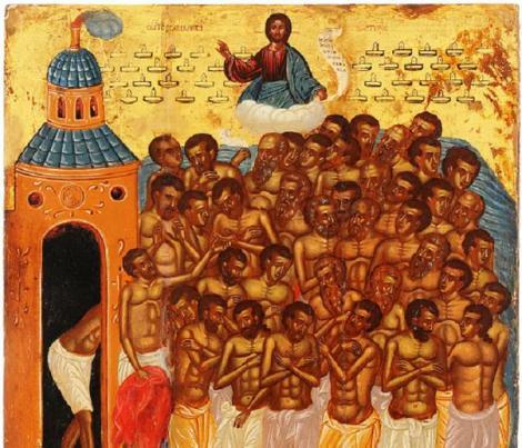 CALENDAR ORTODOX 9 MARTIE - Sfinții 40 de Mucenici. Ce NU ai voie să faci în această zi SFÂNTĂ!