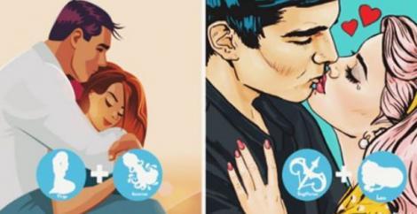 Zodii incompatibile, dar care ar putea fi fericite împreună! Ele sunt cuplurile care vor avea o relație împlinită, în ciuda diferențelor