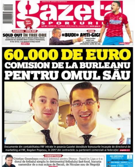 Revista presei sportive, 11.04.2018: Lionel Messi, dat dispărut!; Valverde, principalul vinovat pentru eliminarea Barcelonei