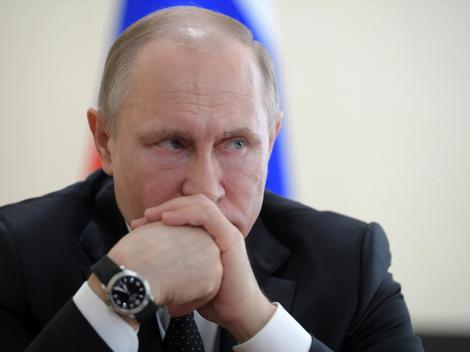 """A început războiul. Putin, primele declarații, după atacarea Siriei: """" Îi va ajuta pe terorişti! Preşedintele american, președintele francez şi prim-ministrul britanic sunt criminali"""""""