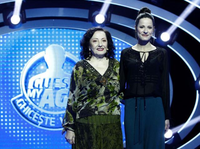 """Celebra cântăreață Stela Enache le-a purtat noroc celor două concurente de la """"Guess My Age – Ghicește vârsta"""""""