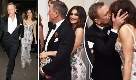 """Însărcinată la 48 de ani cu JAMES BOND! Rachel Weisz şi Daniel Craig vor fi părinţi: """"Se va vedea în curând"""""""