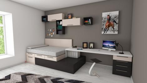 Cele mai eficiente trucuri de amenajare a unui dormitor mic, pe care nu ți le-a spus nimeni!