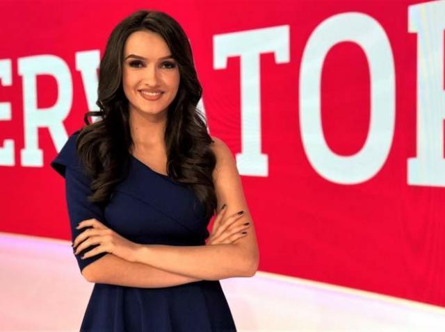 """Viviana Sposub, noua prezentatoare a rubricii meteo Observator: """"Am renunțat și la părul lung pentru noul job"""""""