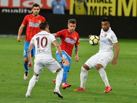 FCSB - CFR Cluj 1-1, o remiză cât 70% din titlu pentru steliști în opinia lui Becali, dar un meci modest în urma căruia nicio echipă nu merită titlul, în opinia lui Pintilii