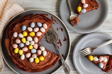 PAȘTE 2018. Pască delicioasă cu ciocolată, bucuria celor mici. Rețeta inedită cu care veți reuși să-i impresionați pe toți