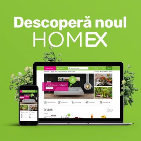Homex.ro a lansat un noul site cu design intuitiv, dedicat decorațiunilor pentru casa ta